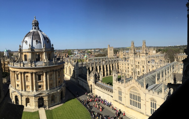 beautiful view from top of the tower