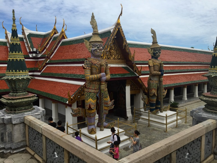 Huge Statues at the Grand Palace