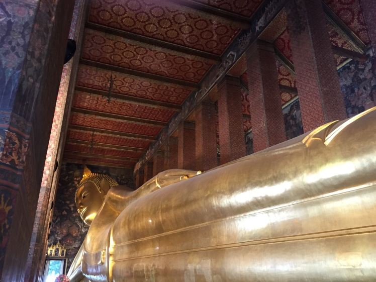 The famous Inclining Buddha...too big to fit in a picture!
