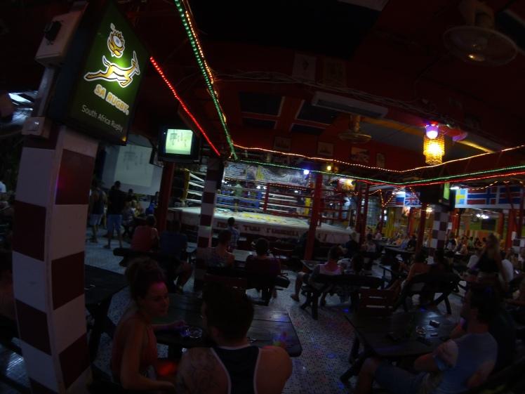 thai boxing bar